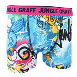BOXER MICROFIBRE HOMME JUNGLE GRAFF