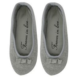 CHAUSSONS FEMME BALLERINES FOREVER IN LOVE