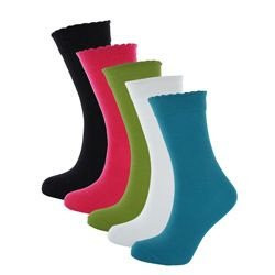 LOT DE 5 PAIRES DE CHAUSSETTES FILLE FASHION