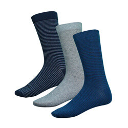 LOT DE 3 PAIRES DE CHAUSSETTES HOMME VERTICAL LIMIT