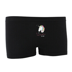 SHORTY FILLE SEAMLESS UNICORN